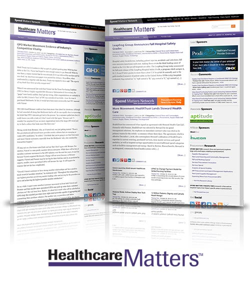 A quick look at Healthcare Matters
