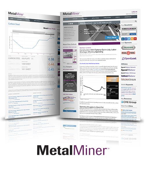 A quick look at MetalMiner